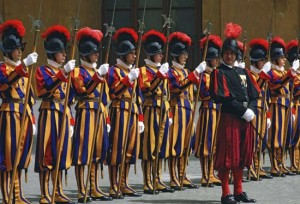 A Swiss guard