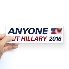 anyone_but_hillary_2016_bumper_bumper_sticker