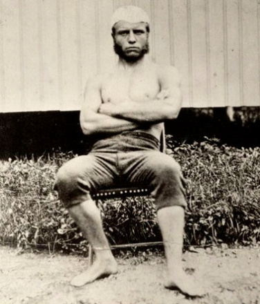 Teddy Roosevelt as a Young man via vice.com